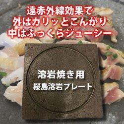 画像1: 桜島溶岩プレート
